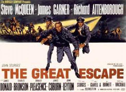 مشاهدة فيلم The Great Escape 1963 مترجم بالعربي Dvd اون لاين